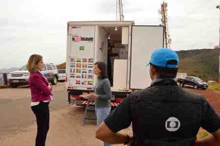 Renato Weil 2015 Itabirito-MG.Gravacao do programa terra de minas da TV globo