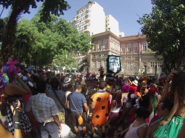 Renato Weil 2016 .Rio de Janeiro-RJ.Carnaval.Bloco surdos e mundos.Catete