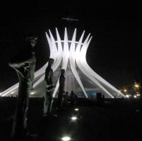 14-08-2013.Foto Renato Weil.Brasilia.catedral