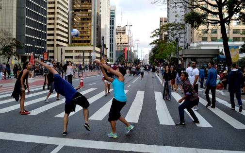 Renato Weil 2016.São Paulo-SP.Av Paulista no domingo