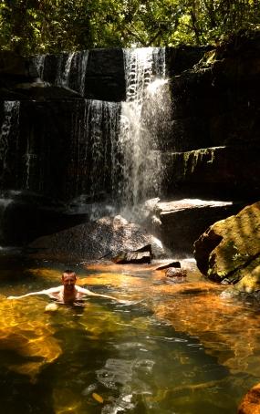 Renato Weil 2016.Chapada dos Guimaraes-MT. Circuito de cachoeiras Aguas do Cerrado