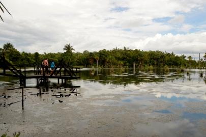 Renato Weil/A Casa Nômade- 2016.Nobres-MT.Distrito Bom Jardim.Lago das Araras