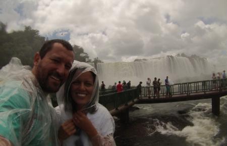 Renato Weil/A Casa Nômade- 2016.Foz do Iguaçu-PR.Cataratas