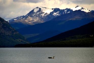 Renato Weil/A Casa Nômade- 2016.Ushuaia-AR.Terra do Fogo.Parque Nacional Terra do Fogo. Lago Roca