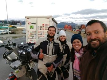 Renato Weil/A Casa Nômade- 2016.Ushuaia-AR.Terra do Fogo.