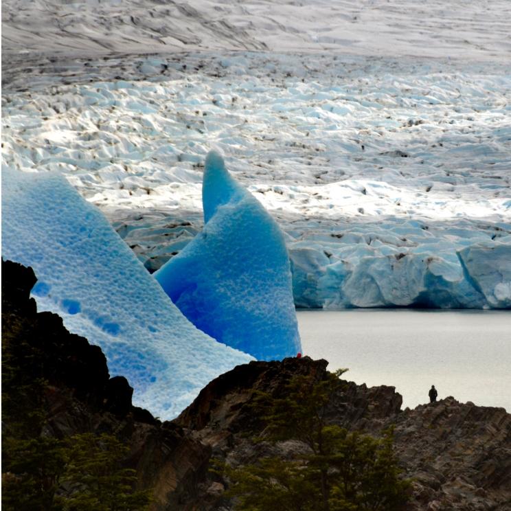 Renato Weil/A Casa Nômade- 2016.Torres del Paine-CH.Circuito W.GlaciarGrey