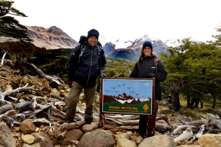 Renato Weil/A Casa Nômade- 2016.El Chaltén-AR.Capital Nacional do Trekking.Cerro Fitz Roy 3405m