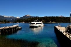 Renato Weil/A Casa Nômade- 2017.EL Bariloche-AR.Passeio de barco pelo lago Nahuel Huape.Passando pela ilha victoria e o bosque de arrayanes