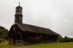 Renato Weil/A Casa Nômade- 2017.Ilha de Chiloé.Quemchi.CL.Igreja de Santo Antonio no povoado de Colo