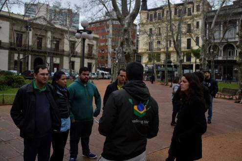 Foto Renato Weil/A Casa Nomade.Montevideo-Uruguai.Walk tour pelo centro