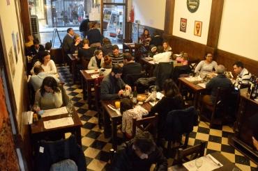 Foto Renato Weil/A Casa Nomade.Buenos Aires. Argentina.Restaurante Santos Manjares