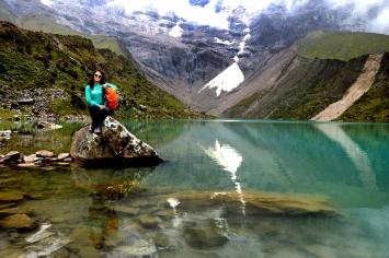 Foto Renato Weil/A Casa Nomade-2018.Soraypampa-Peru. Lago Humantay