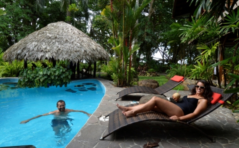Foto Renato Weil/A Casa Nomade-2018. Saxiola.Costa Rica. Hotel Banana azul