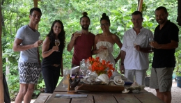 Foto Renato Weil/A Casa Nomade-2018.Tamarino. Costa Rica. Restaurante HIR