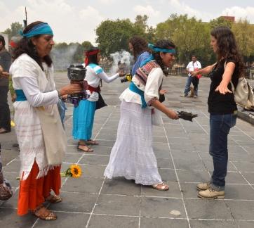 Foto Renato Weil/A Casa Nomade.2018.Cidade do Mexico-Mexico,Culto Mexica