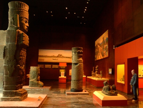 Foto Renato Weil/A Casa Nomade.2018.Cidade do Mexico-Mexico. Museo Nacional de Antropologia