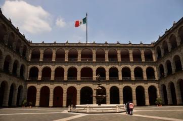 Foto Renato Weil/A Casa Nomade.2018.Cidade do Mexico-Mexico,Palacio Nacional