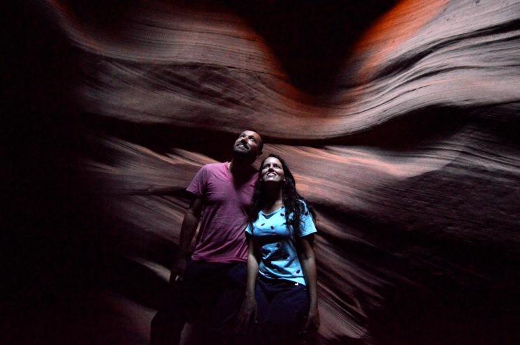 Foto Renato Weil/A Casa Nomade.2018.Page.Estados Unidos.Parque Nacional Glen Canyon .Antelope Upper
