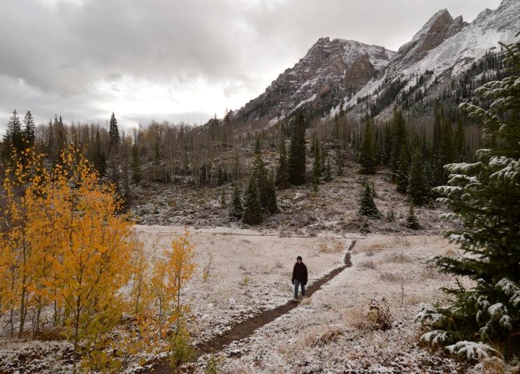 Foto Renato Weil/A Casa Nomade.2018.Aspen.Colorado.Estados Unidos. Outono. Floresta Nacional White River