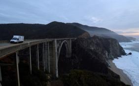 Foto Renato Weil/A Casa Nomade.2018.California .Estados Unidos. Rodovia 1 . San Francisco/Los Angeles.