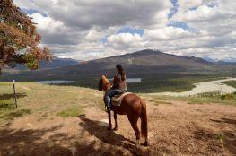 Foto Renato Weil/A Casa Nomade.2019.Alberta.Parque Nacional Jasper.Horse Back Riding