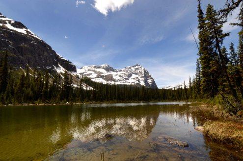 Foto Renato Weil/A Casa Nomade.2019.British Columbia.Parque Nacional Yoho.Lake Mary