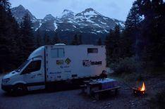 Foto Renato Weil/A Casa Nomade.2019.Alberta.Parque Nacional Jasper.