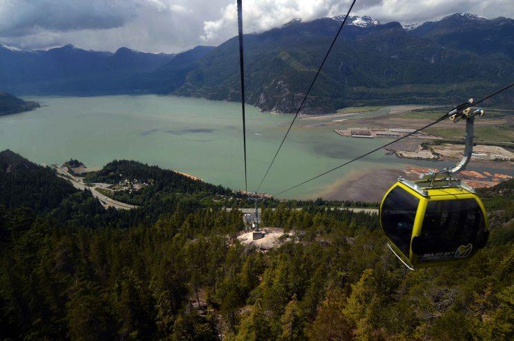 Foto Renato Weil/A Casa Nomade.2019.British Columbia.Sea to Sky gondola