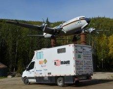 Foto Renato Weil/A Casa Nômade.2019.Alaska.EUA. Aurora Borea.l Fairbanks